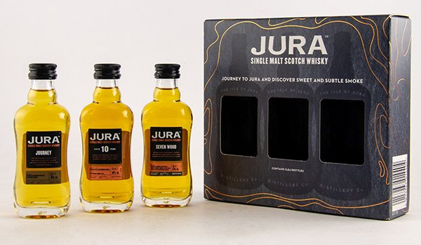 Jura The Collection Miniaturset Front