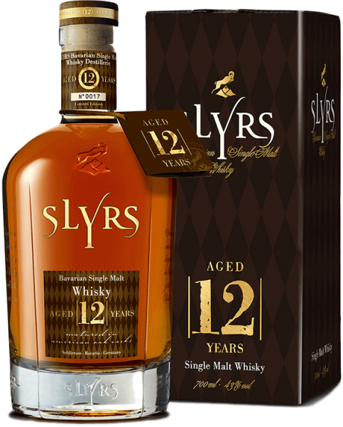 Slyrs Bavarian Single Malt Whisky Aged 12 Jahre 43% 0,7L Shop