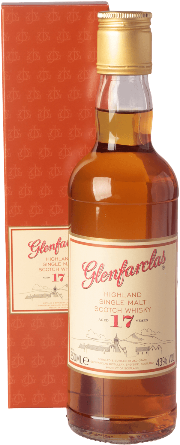 glenfarclas 17 jahre whisky 43 0 35l halbe flasche schottland kaufen whisky rum online shop. Black Bedroom Furniture Sets. Home Design Ideas