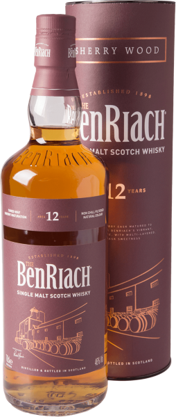 Benriach 12 Jahre Sherry Wood Whisky 46% 0,7L