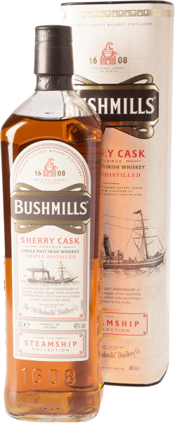 Bushmills The Steamship Collection Sherry Cask Whiskey 40% 0,7L
