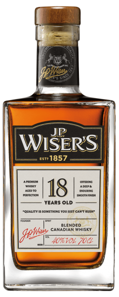 J.P.Wiser's 18 Jahre Canadian Whisky
