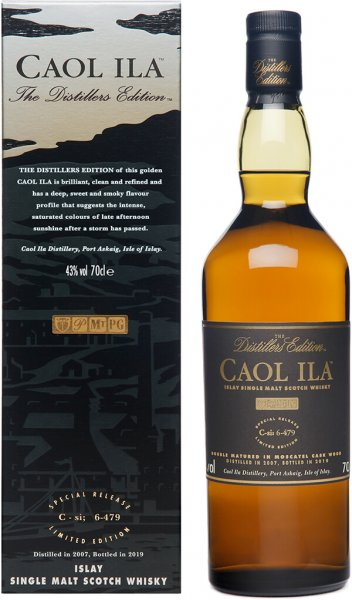 Caol Ila Distillers Edition 2007 2019 Whisky 43% 0,7 Prozent