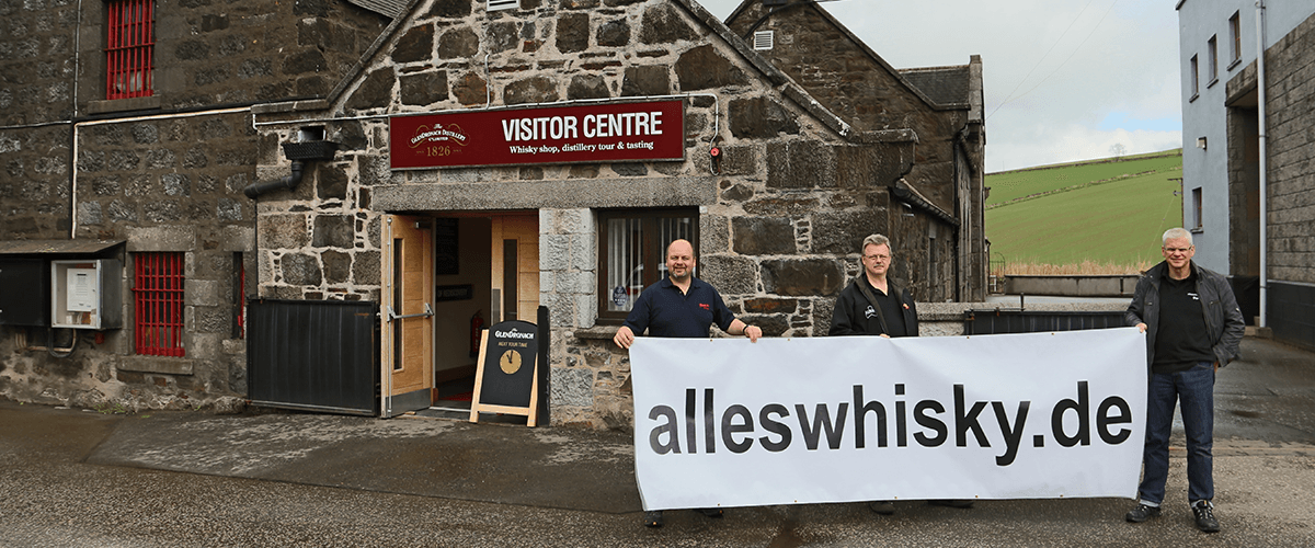 Glendronach Malt Whisky Distillery Highlands Schottland Visitor Center alleswhisky