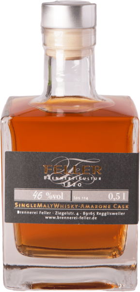 Feller Valerie Amarone Cask Single Malt Whisky 46%