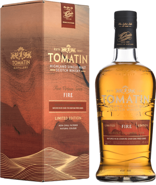 Tomatin Five Virtues Limited Fire Edition Whisky 46%