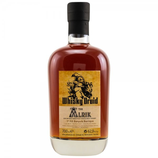 Whisky Druid The Alrik The Smoked Hercynian Banyuls Barrique Whisky 62,9% 0,7L